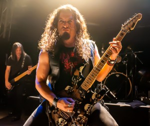 Michael Wilton of Queensryche in London (photo: John Brott)