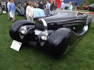 1939 Bugatti Type 57C by Vanvooren originally owned by Mohammed Reza Pahlavi, the Shah of Iran (photo: Gene Stout)
