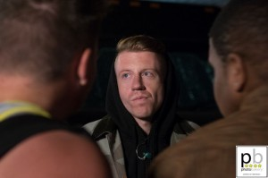 Macklemore outside Antone's (photo: Jim Bennett)