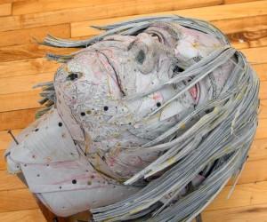 Kurt Cobain sculpture by Scott Fife, courtesy of the artist