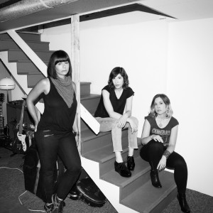 Sleater-Kinney (photo: Brigitte Sire)