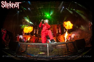Corey Taylor of Slipknot (photo: Mike Savoia)