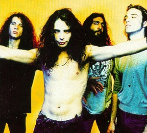 Soundgarden, back in the day (early publicity photo)