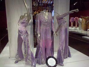 Pink Supremes costumes on display