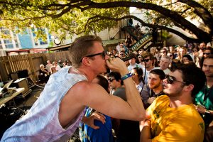 Macklemore at SXSeattle showcase (photo: Christopher Nelson)