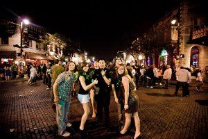 SXSW festivalgoers on Sixth Street (photo: Christopher Nelson)