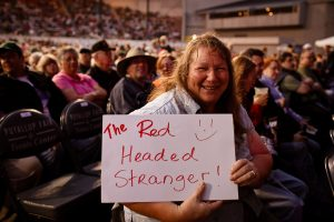 Willie Nelson fan (photo: Christopher Nelson)