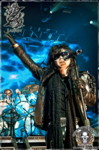 Singer Toshi of X Japan (photo: Mike Savoia)